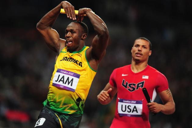 London 2012: Very Best of US Track Not Near Enough to Match Usain Bolt, Jamaica