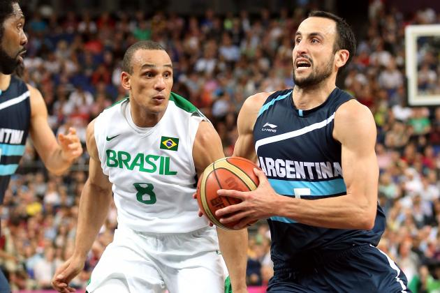 Argentina vs. Russia: Manu Ginobili Will Finish Olympic Career on Podium