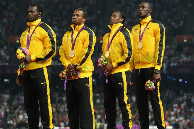 London 2012 Men's 4x100m Relay: WR Proves Jamaica Sprinters Are Olympic Legends