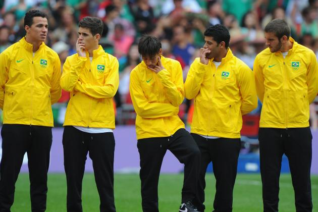 2012 Olympic Football: What's Next for Brazil After Gold-Medal Match Failure?