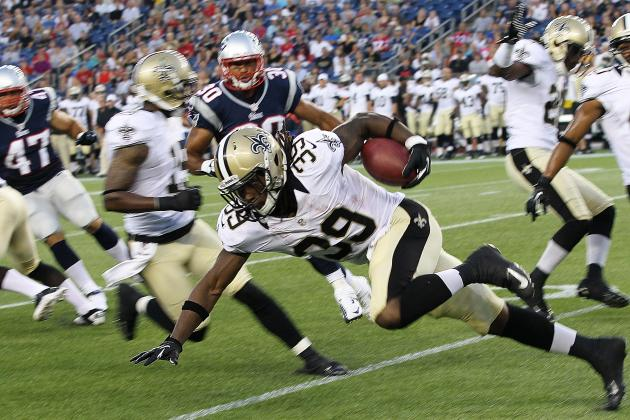 2012 New Orleans Saints: Is Travaris Cadet a Mix of Ivory and Sproles?