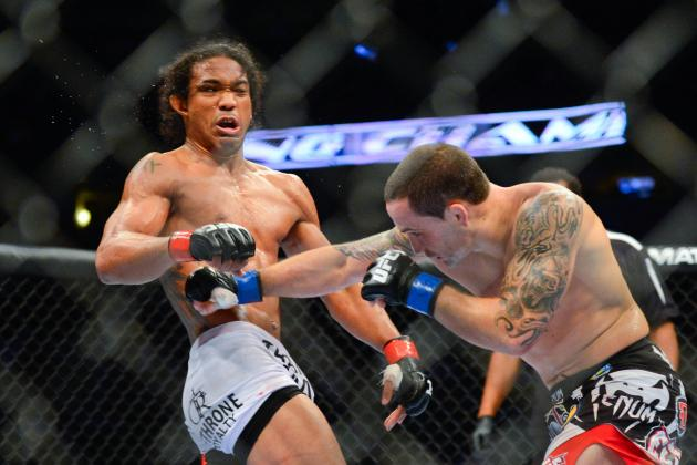 UFC 150 Results: Fightmetric Says That Frankie Edgar Won the Fight