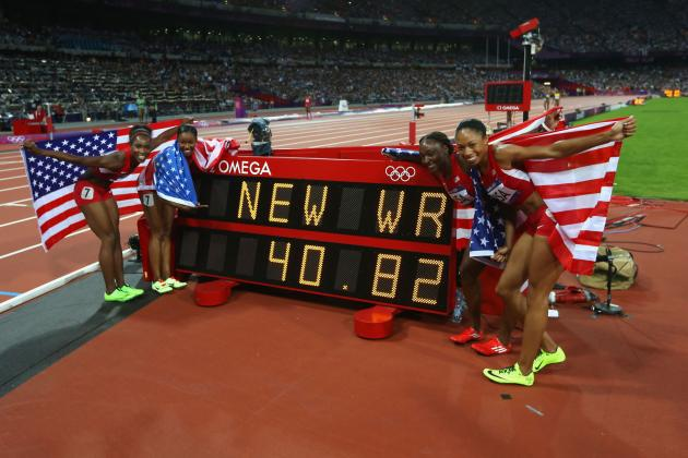 Olympic Medal Count 2012 Chart: Track and Field Pushes USA to Top of Table