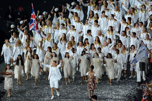 Closing Ceremonies 2012: Latest Buzz on Flag-Bearers