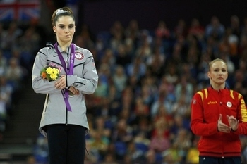 London 2012 McKayla Maroney Silver Medal Reaction, a Sign of Bad Sportsmanship?
