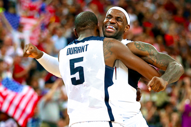 USA Men's Basketball Team Defeats Spain to Win 2012 Olympic Gold