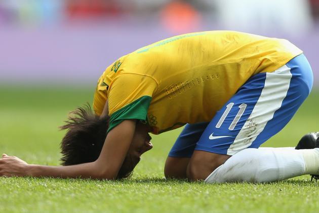 Neymar: London 2012 Performance Shows Brazil Star Not Ready for Europe