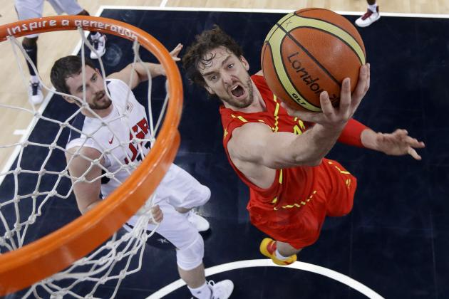 Spain Olympic Basketball Team: Pau Gasol Keeps It Close in Gold-Medal Final