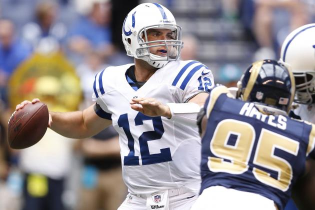 Andrew Luck Has Dominant Start to Preseason for Colts
