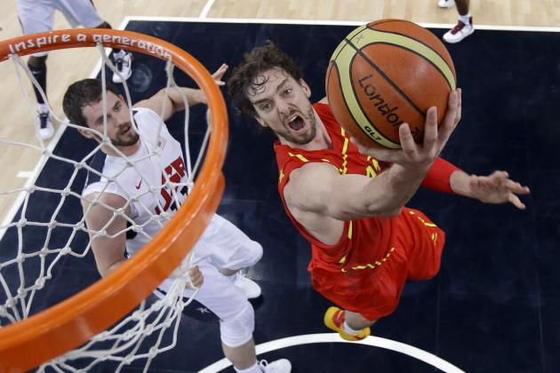 London 2012 Basketball: 3 Players Who Showed Up Big for Spain vs. Team USA