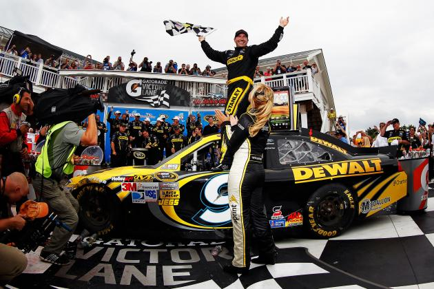 Marcos Ambrose Wins, Kyle Busch Disappointed in Instant Classic at Watkins Glen