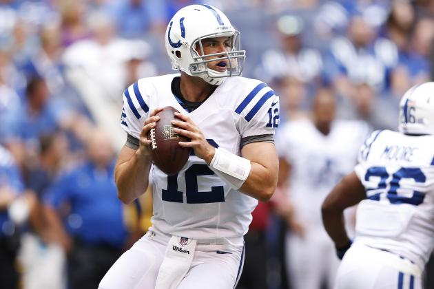 Watch Luck's Impressive NFL Debut