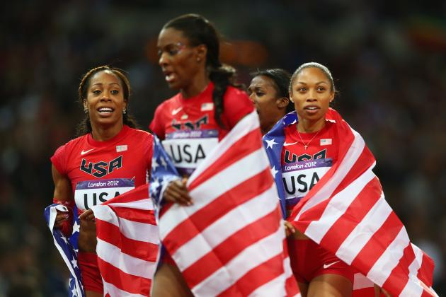 Olympic Medal Tally 2012: Team USA Uses Track and Field to Separate from China
