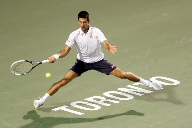 Novak Djokovic Wins Rogers Cup Final to Set Up 2012 US Open Title Defense