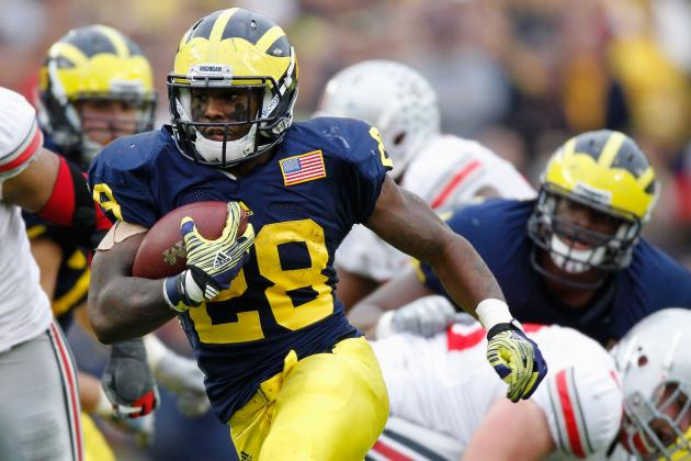 Michigan's Fitzgerald Toussaint & Frank Clark Cleared for Practice on Monday