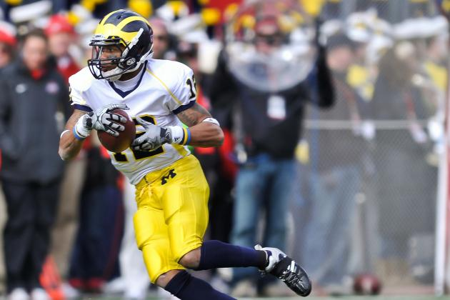 Michigan Football: Roy Roundtree Has Knee Surgery, Expected to Miss 2 Weeks
