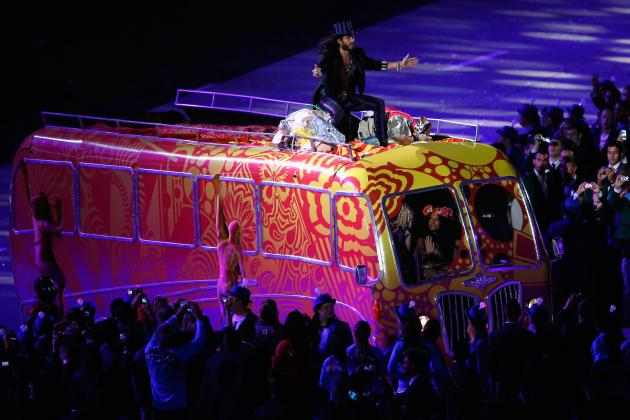 London 2012 Closing Ceremony: Russell Brand and Weirdest Acts at Olympic Finale