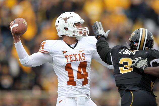 David Ash and Case McCoy: Breaking Down the Texas Longhorns' QB Battle