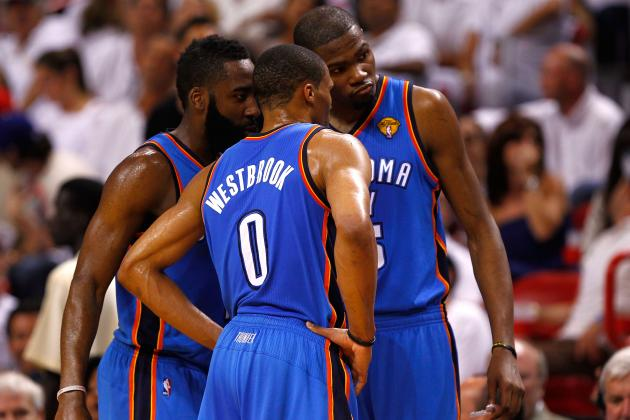 Oklahoma City Thunder: Why 2013 Is Already Make or Break for OKC's Young Core