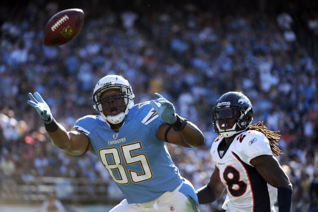2012 Fantasy Football Player Preview: San Diego Chargers' Antonio Gates