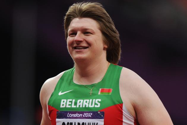 Belarusian Shot Putter Nadzeya Ostapchuk Stripped of Gold for Doping