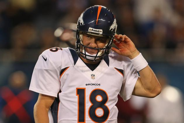 Peyton Manning's Shaky Preseason Start Is Not a Concern for Denver Broncos