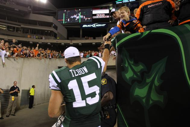 Can Tim Tebow Take the Starting Job in New York Before Opening Weekend?