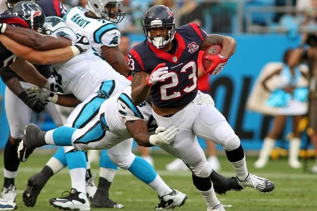 Fantasy Football 2012: Arian Foster Leads Tailback Tiers