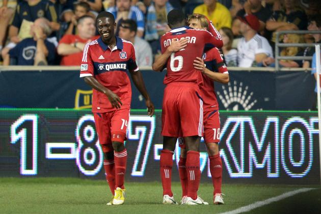 Chicago Fire 3-1 Philadelphia Union: Union Burned by Rolfe on Sunday Night