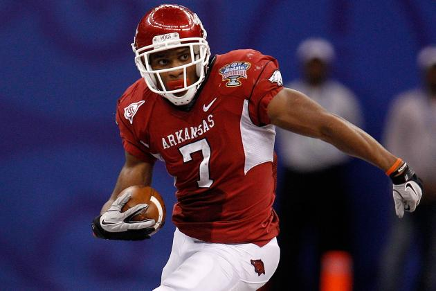 Arkansas Football 2012: Knile Davis Is Getting All the Contact He Needs