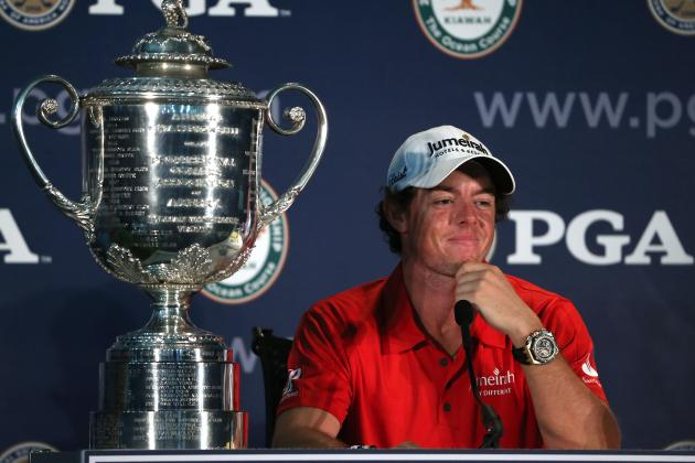PGA Championship 2012: Power Ranking Golf's Biggest Stars After Final Major