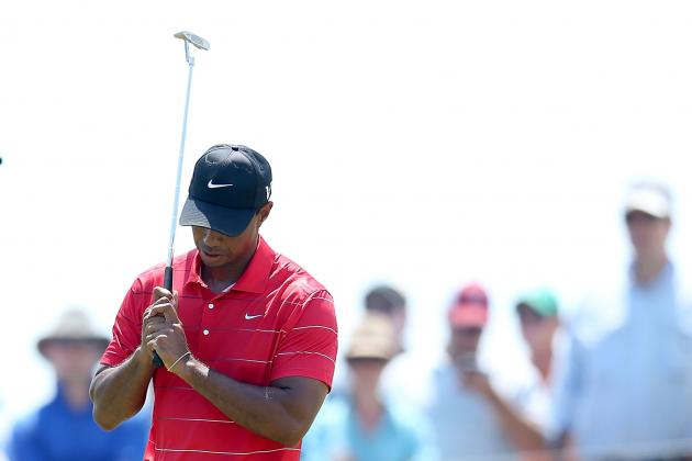 Harig: Woods Admits to Pressing Too Hard at PGA