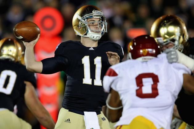 Notre Dame Football: Suspended QB Tommy Rees Needs to Earn Starting Spot