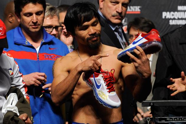 Manny Pacquiao's Rep Denies Dana White's Claim of Nike Dropping Pac-Man