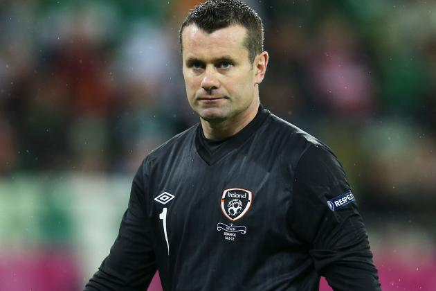 Shay Given Retires from Republic of Ireland Internationals