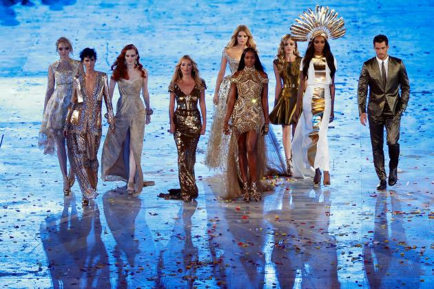 Backlash over Supermodels' Role in Closing Ceremony