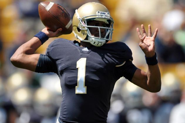Notre Dame Football: Why Everett Golson Must Be Starting Quarterback in Week 1