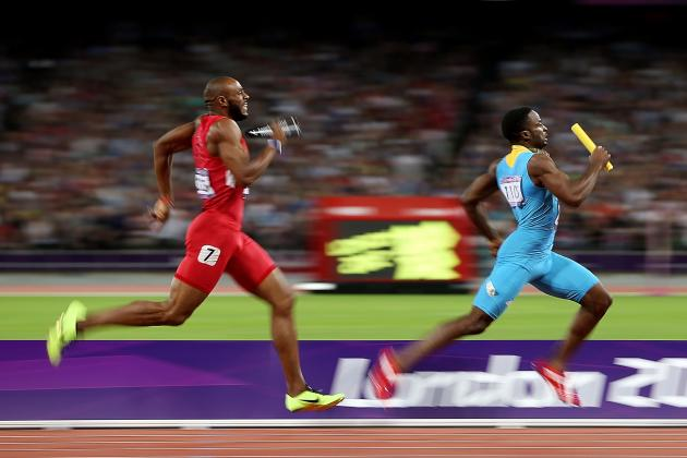 Olympic Medal Count 2012: U.S. Men's Sprinters Must Look to Rebound in Rio