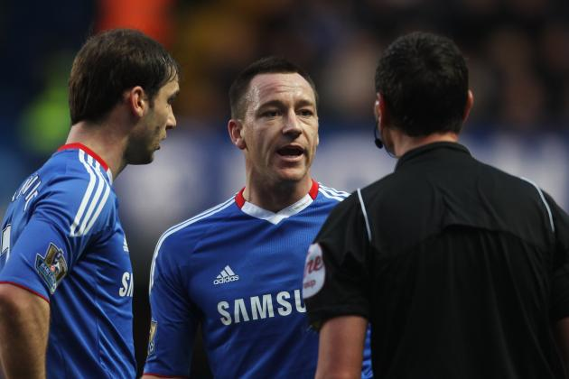 Chelsea News: John Terry and Branislav Ivanovic Reduce Suspensions