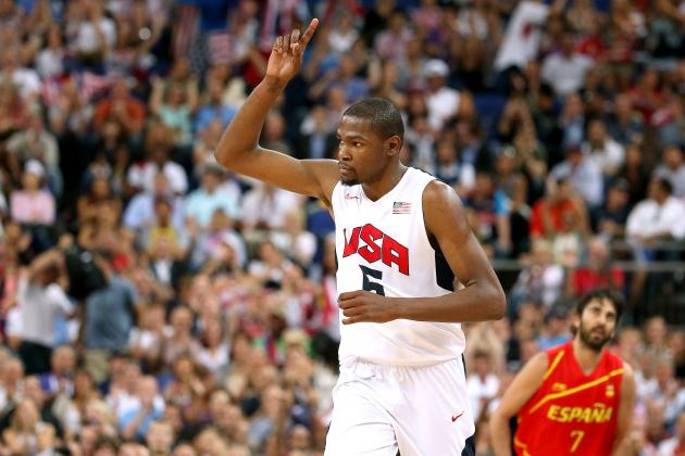 Kevin Durant's 2012 Olympics Will Propel OKC Thunder Back to NBA Finals