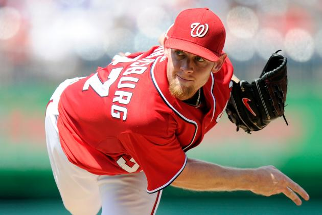 Could Nats Shut Down Stephen Strasburg Now, Then Bring Him Back for Playoffs?