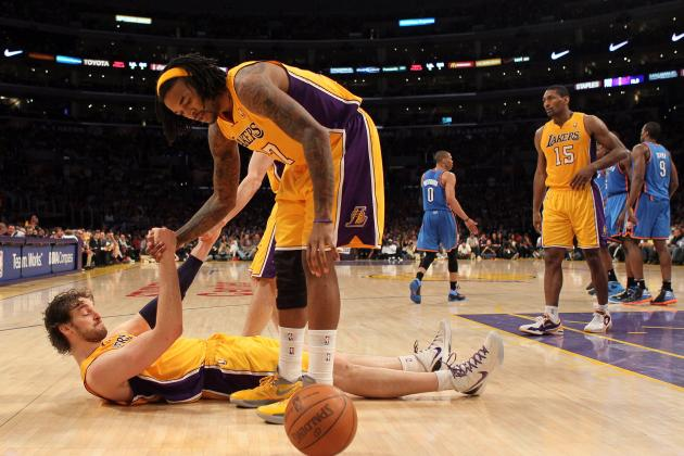 L.A. Lakers: Can Gasol, Hill Hold the Lakers Up While Howard Is Down?
