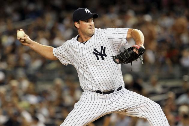 Yankees-Rangers: Derek Lowe Impressive in Debut, Picks Up Save in 8-2 Win