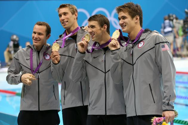 US Olympic Medal Count 2012: Breaking Down USA's Most Dominant Sports