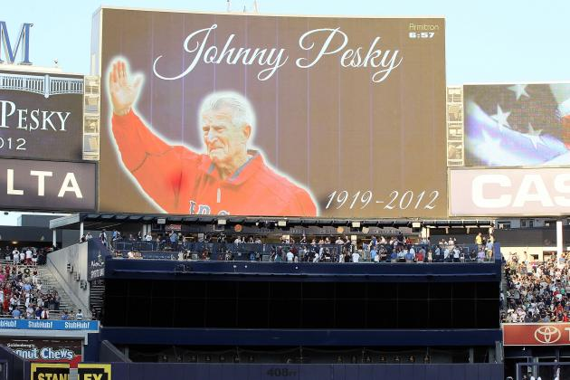 New York Yankees Show Tremendous Class in Honoring Red Sox Great Johnny Pesky