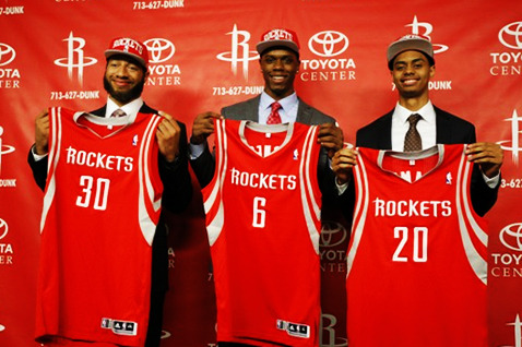 Houston Rockets' Next Steps After Missing Out on Dwight Howard and Andrew Bynum
