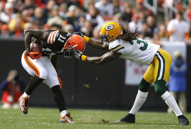 Packers vs Browns