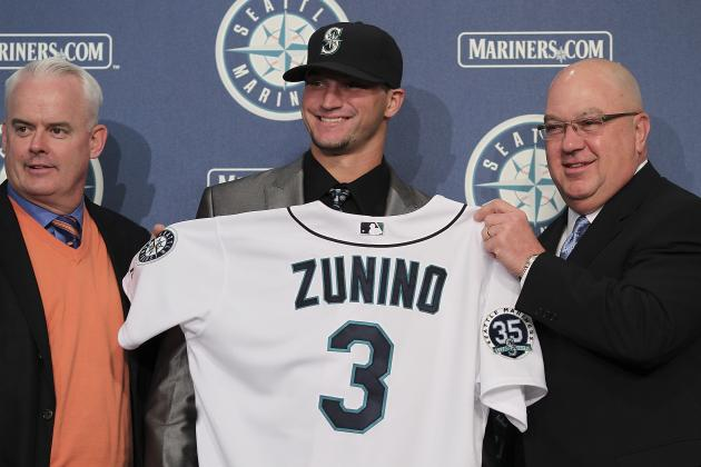 Seattle Mariners: 1st-Round Pick Mike Zunino Promoted to AA