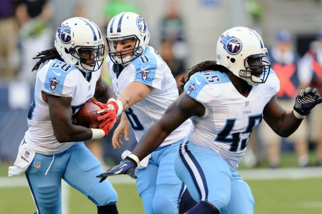 Titans' Chris Johnson Had a Bad Day in Preseason Week 1