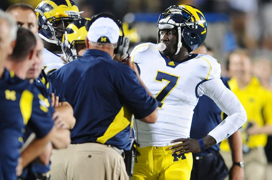 Should Devin Gardner Become Full-Time Receiver for Michigan Wolverines?